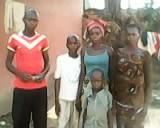 Pastor Kongbo's family.