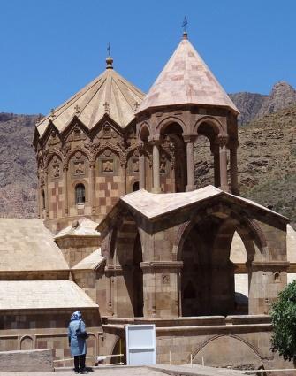 14th-Century Armenian Church of St. Stephanos;near Jolfa, Iran.