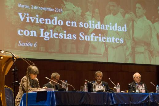 Panelists at the Global Christian Forum: Discrimination, Persecution, Martyrdom, in Tirana, Albania.