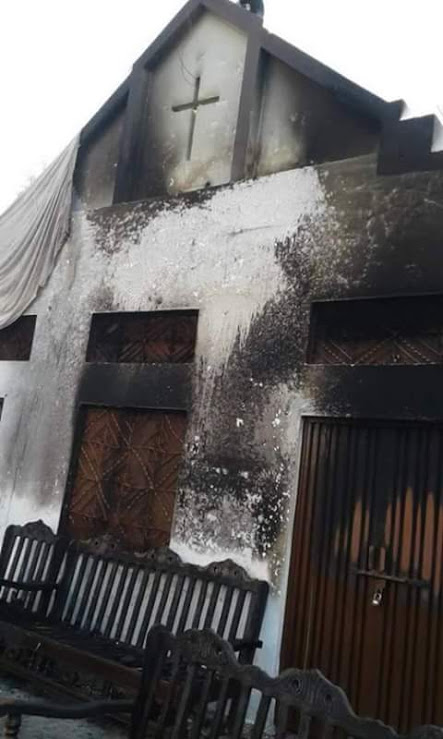 The Apostolic Church in Baath was attacked on 7 Jan.