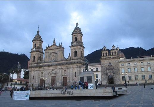 La Catedral Primada, Bogota, Colombia.