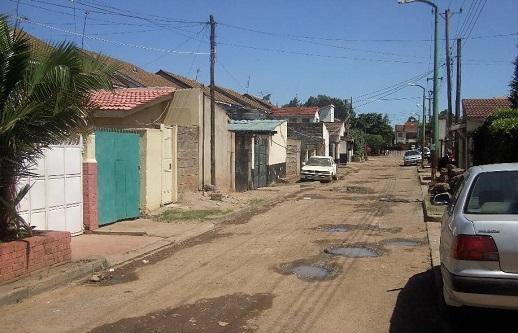 A street in Mandera, north-eastern Kenya, 2013.