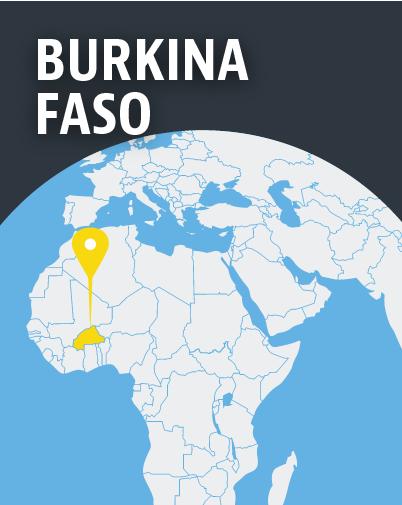 Burkina Faso Map