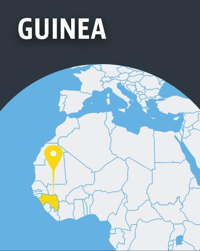 Guinea Map