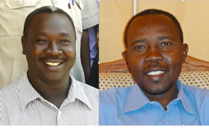 Pastor Kuwa Shamal (l) was arrested earlier, in December last year, with his colleague Hassan Taour (r) and 2 others.