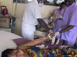 Two churches targeted in bomb attack in Nigeria