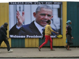Obama visit puts Ethiopia's record in spotlight