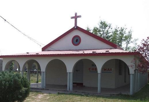 The Alba Presbyterian Church in Sankhatra, Narowal District, Pakistan.