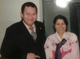 Bahrom and Gulnora Kholmatov