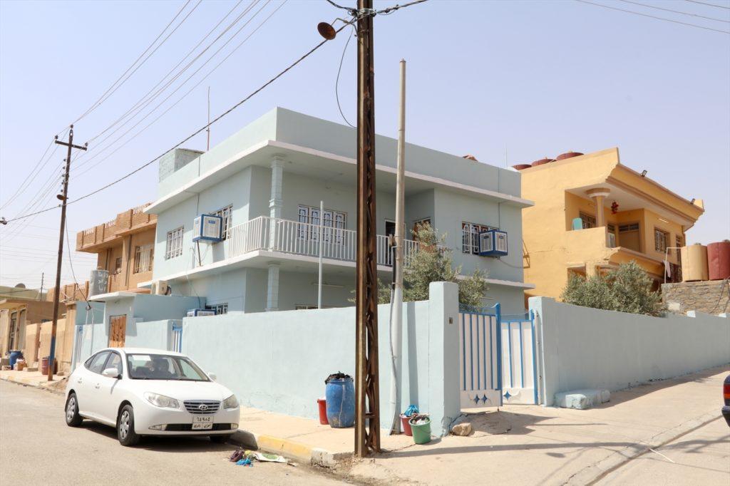 A fully restored property in Bashiqa (WWM, Aug. 2017)