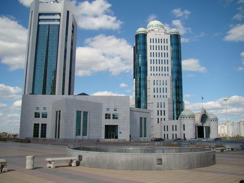 Kazakhstan's Parliament building (CC/Wikipedia)
