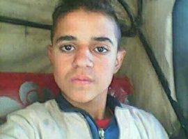 Murdered 14 yr old Ishak Nashaat Birwan, who drove a 'tuk-tuk' taxi
