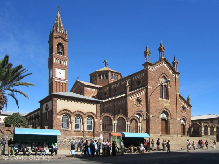 Our Lady of the Rosary Catholic Cathedral in Asmara, Eritrea. (Photo: David Stanley)