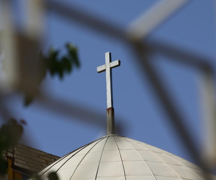 Cross on Simon the Zealot Church in Shiraz. Iran (World Watch Monitor)