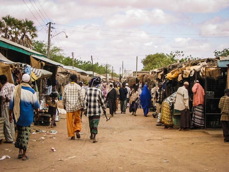Somalia street scene 2005 (World Watch Monitor)