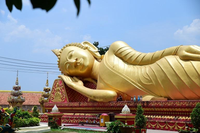 Vat That Khao Buddha in Laos. (Photo: World Watch Monitor)