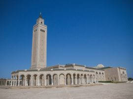 The Malik ibn Anas Mosque in Carthage, near the capital Tunis. (Photo: World Watch Monitor)
