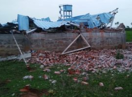 Good Fruit Ministries church in Sangameshwar village of Siddhipet District, Telangana state was demolished by a bull dozer on the directions of uppercaste Hindus who follow Vaastu shastra.