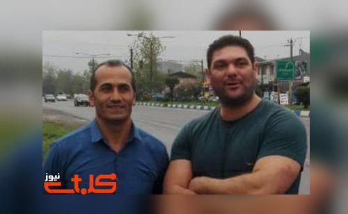 Behnam Ersali and Davood Rasooli were arrested last week Friday, 16 November. (Photo: Mohabat News, Facebook)